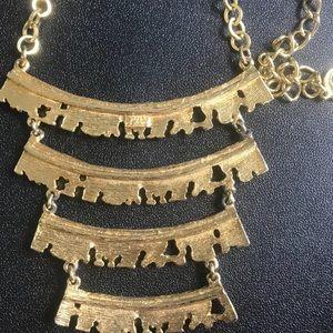 Vintage 4 tier cascading necklace